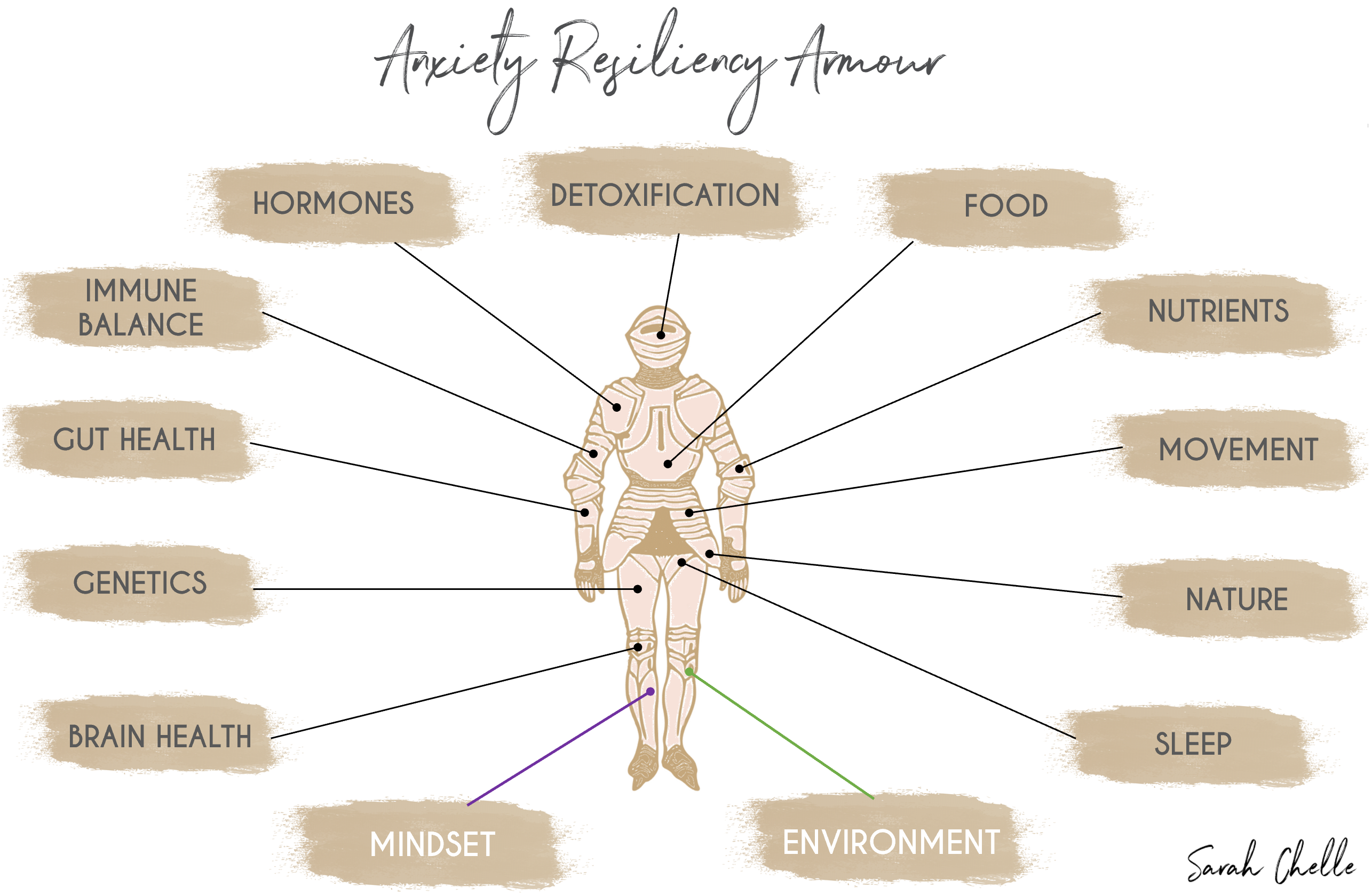 Anxiety resiliency armour